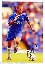 "Adrian Mutu Colour 10""x 8"" Signed Chelsea FC Photo - UACC RD223"