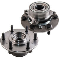 TWO 2x FRONT WHEEL BEARING HUBS FOR MITSUBISHI TRITON ML MN 4WD 07- BRAND NEW