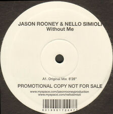 JASON ROONEY & IN SAINI - Without Me - 2008 - RISE 415 - Italy
