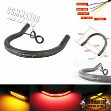 Motorbike 7/8 Inch Tube Seat Loop Rear Frame Hoop with LED Light  for Honda CB