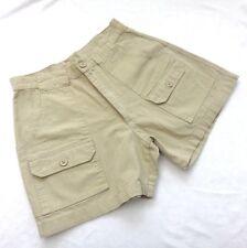 The Original Cascade Shorts Men's 30 Khaki Hiking Button Front & Back Pockets