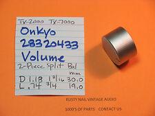 onkyo 28320433 lautstärkeregler teil 2-teilig split volume balance tx-2000 tx-7000
