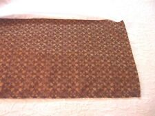 Croscill Galleria Brown and Gold Geometric Print Tailored Queen Bed Skirt