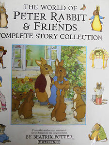 THE WORLD OF PETER RABBIT & FRIENDS COMPLETE STORY COLLECTION BEATRIX POTTER HC