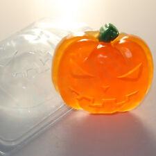 """""""Halloween pumpkin 3"""" plastic soap mold soap making mold mould ex"""