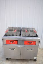 Vulcan 2er85df 170 Lb Electric Fryer With Filtration System