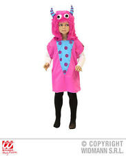 Childrens Pink Monster Fancy Dress Costume Halloween Monster Outfit 3-5 Yrs