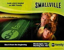 Smallville: Series Premiere: Kents, Tom Welling: Great 2-Page Photo Print Ad!
