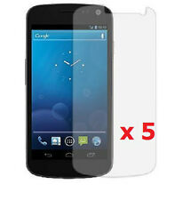 5 x Clear LCD Screen Protector for Samsung Galaxy Nexus (Samsung SCH-i515)