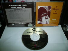 AYAKO HOSOKAWA A WHISPER OF LOVE JAPAN CD TBM