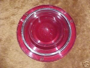 62 Ford Galaxie Country Sedan Sunliner Tail Light Lense W/O Reverse NOS 1962