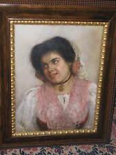 RUBEN Franz Leo, *1842 Lachendes junges Mädchen