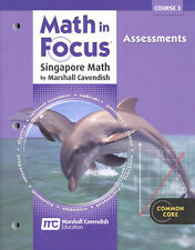 Grade 8 Math in Focus Assessments Book Course 3 8th