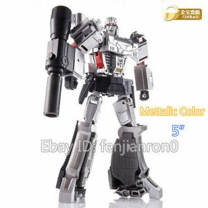 "Deformation Megatron G1 Metallic Color Jinbao H9 Action Figure 5"" KO Toys Kids 9"