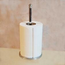 Kitchen Roll Holder Towel Dispenser Stainless Steel Stand Pole Elegant Stylish