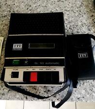 ITT SL 53 AUTOMATIC CASSETTE PLAYER / RECORDER CIRCA 1975/76