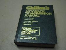 Chilton's Automatic Transmission Manual American Import Cars Trucks Vans Pick-u