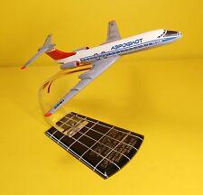 Tu-134 Jet Plane Model Souvenir Table Stand Ussr Soviet Era