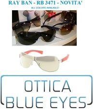 Occhiali da Sole RAYBAN Mascherina RB 3471 Ray Ban Sunglasses Sonnenbrille MASK