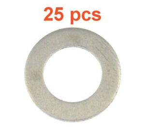 (25) Marli 14mm Aluminum Oil Drain Plug Gaskets M14 RPL 94109-14000 Fits Honda