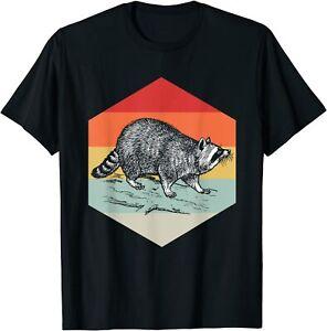 Retro Racoon T-Shirt Raccoon Lover Gift