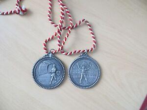 2 Medaillen aus Zinn Marschfreunde Kumhausen b. Landshut von 1976-