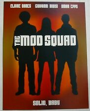 AFFICHETTE SYNOPSIS - THE MOD SQUAD - CLAIRE DANES / GIOVANNI RIBISI / OMAR EPPS