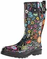 Western Chief Women's Waterproof Printed Tall Rain Boot - Multi - Size: 9