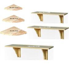 Librerías y estanterías de comedor de madera maciza para el hogar