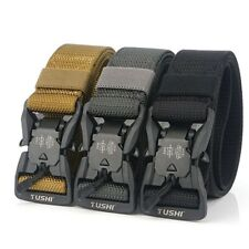 125cm Men's Military Tactical Belt Waist Belt Adjustable Nylon Magnetic buckle