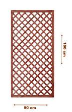 Griglia/Steccato/Pannello grigliato in legno trattato per giardino e terrazzo 18