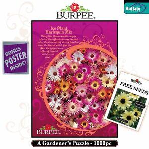 Burpee: Ice Plant Harlequin Mix 1000 Piece Puzzle