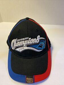 Carolina Panthers 2003 NFC Champions Reebok Strap Hat