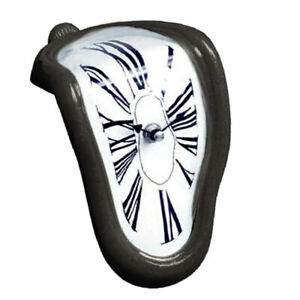 Melting clock Home Art design hanging wall clocks silent clock home decor