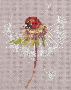 Panna Cross Stitch Kit : Ladybird