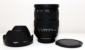 Sigma 18-200mm f3.5-6.3 DC OS HSM Lens for Canon EF-S