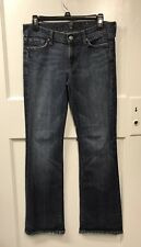 EUC 7 Seven For All Mankind Bootcut Jeans, Women's Size 28 / 31 Inseam