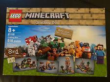 LEGO Minecraft Crafting Box (21116)
