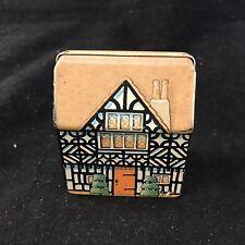 Hunkydory Design - Dana Kubick Collector Tin Miniature Doll House 1988 England