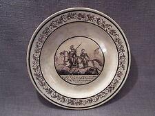 """belle assiette 19eme """"damien au combat de valselle 1809"""""""