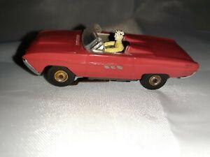 Aurora/MM 63 Thunderbird Slot car tested/runs good.