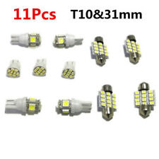 Led Car Interior T10 White For Dome Map Bulb Reading License Lights 31mm From US