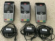 Three Ingenico Hand Held iWl250 Credit Card Readers New W/O Box with 3 chargers