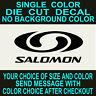 Salomon Snowboard Vinyl Window decal die cut car truck laptop mirror sticker