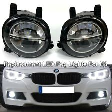 6000K White LED Bumper Fog Light Lamp Replace Assembly For 14-20 F32 F33 F36