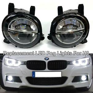 6000K White LED Bumper Fog Light Lamp Replace Assembly For 14-20 F32 F33 F36