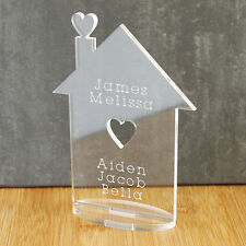 Personalised Family Names Home Ornament Keepsake Gift Idea for Parents, Families