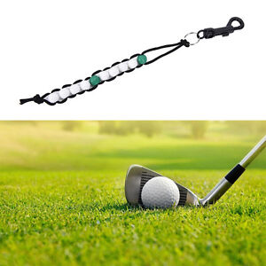 1PC New Golf Beads green Stroke Shot Score Counter Keeper with Clip H.S5