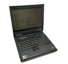 IBM ThinkPad A20m Intel Pentium III @ 700MHz 320MB RAM POST TEST