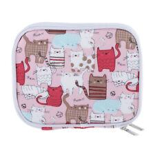 Häkelnadel Tasche Häkelnadel Etui Katze Motiv Nadeltasche Tasche Kasten